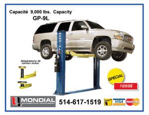 Mondial  9000lbs Pont elelateur Lift de garage Machine a pneus