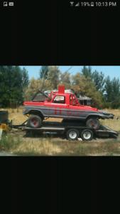 I need a derby truck or derby car