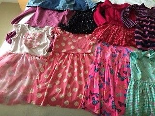 Girls assorted clothes age 4 - 5 years