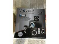 Sumvision V-Cube 5.1 Bluetooth Home Cinema Surround Sound Speaker System