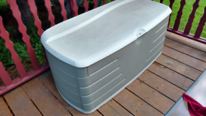 Patio/deck storage box