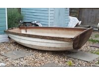Wanted: Free Wooden Rowing Boat For Garden