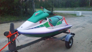 XP 580 Sea-Doo with trailer and cover