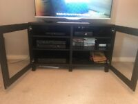 Dark wood Tv stand From NEXT