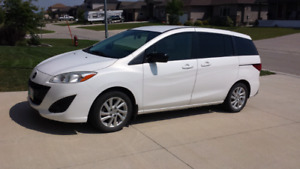 2012 Mazda 5 GS Hatchback with Studded Winter Tires