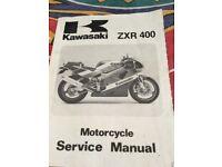 Kawasaki zxr400 service manual