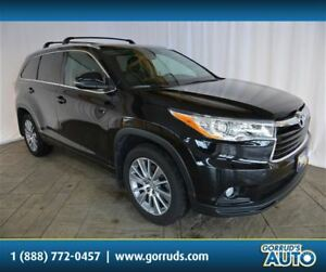 2015 Toyota Highlander XLE/AWD/SUNROOF/NAV/LEATHER/CAMERA/BLUETO