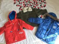 Boys bundle of coat 2-3-4 years