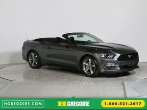 2016 Ford Mustang CONVERTIBLE V6 AUTO A/C GR ÉLECT MAGS BLUETHOO