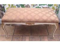 Long vintage stool