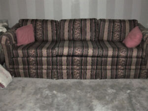 Classic style couch.