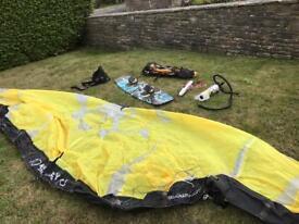 Slingshot kitesurfing set, kitesurf
