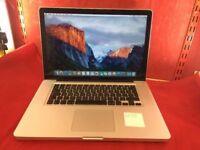 """Apple MacBook Pro A1286 15.4"""" MC721 500GB, 4GB RAM, i7 Processor, 2011 +WARRANTY, NO OFFERS L46"""