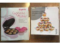 Boxed Cupcake Maker + Cupcake Stand