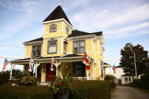 Waterfront B&B 4 Sale - Digby, Nova Scotia