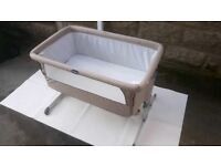 Baby Co-sleeping / bed side cot, folding, portable, travel
