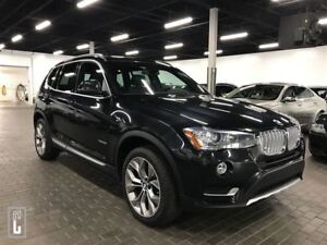 2016 BMW X3 28i XDRIVE-NAV-CAMERA-PANOROOF-ONLY 45 K