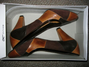 ALDO leather high heel women's shoes