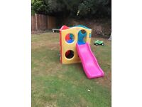 Little Tikes Wave Climber Climbing Frame & Slide