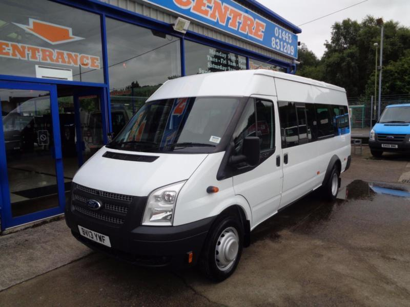 2013 FORD TRANSIT 430 135PS SHR ...17 SEATER BUS ... MINIBUS DIESEL