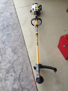 RYOBI  30 CC GAS STRING TRIMMER AND EDGER ATTACHMENT