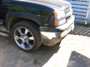 chev pickup rims with tires