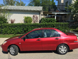 2004 Mitsubishi Lancer ES Sedan with air *REDUCED*