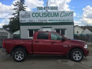 2015 Dodge Ram 1500 ST, 4X4, LEATHER, 88KM