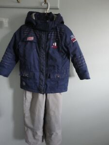 Kid's winter jackets and pants, boots