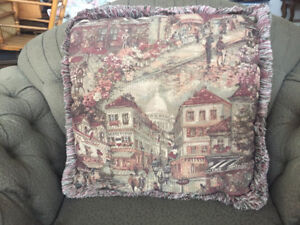 6 Sofa Pillows $30.00 for all Excellent condition