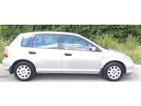 ((( AUTOMATIC ))) HONDA CIVIC 1.6 SE AUTO*1 OWNER *F/S/H* 5 DRS HATCHBACK*MOT- JULY 2018 *EXCELLENT