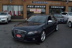 2010 Audi S4 3.0 Premium (S tronic)/SUNROOF/LEATHER