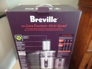 Breville Multi-Speed Juice Fountain