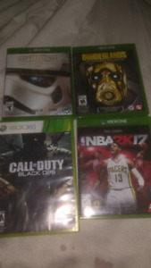 3 xbox one games 1 xbox 360 game