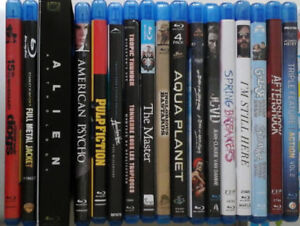 Blu-ray collection for sale. 50+ movies. Alien, Apocalypse Now..