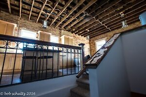 Luxury loft suite available 15 ft ceilings downtown Moose Jaw