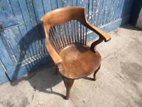 Old Windsor spindle back chair