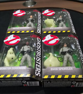 Full Ghostbusters action figure Set. Brand new condition!