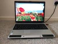 "17"" Toshiba Laptop (NO HARD DRIVE)"