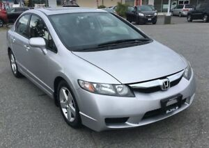 2009 Honda Civic Sport, Fuel Economy, CD, Power Doors/Windows