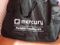 Mercury portable satellite -caravan /camping