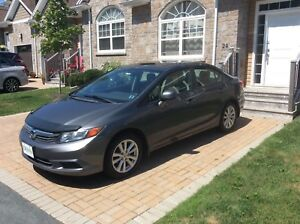 2012 Honda Civic EX Manual