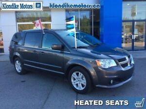 2016 Dodge Grand Caravan Crew Plus  - Leather Seats -  Heated Se
