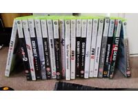 Xbox 360 S, rechargable controllers and multiple games
