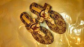 NEW MK Michael Kors Flip Flops UK 5