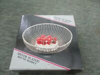 Silver Plated Bowl/Basket