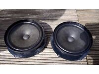 VW front door speakers