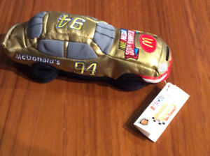 Bill Elliott NASCAR collectable Beanie racer car 50 anniversary