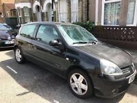 2005 Renault Clio 3 door 1.4 petrol - perfect first car