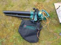 Garden blower leaf vac